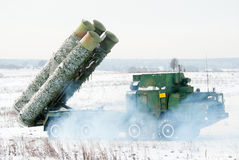 Air defense systems S-300 Stock Photography