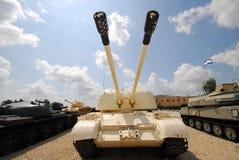 Air defense tank royalty free stock image