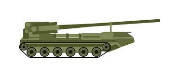 Air defense vector illustration. Stock Photography