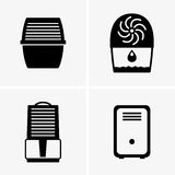 Air dehumidifiers Royalty Free Stock Images