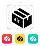 Air delivery icon. Vector illustration Stock Image