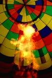 air den varma ballongen Fotografering för Bildbyråer