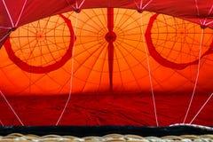 air den varma ballongen royaltyfria bilder