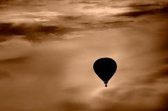 air den varma ballongen Arkivfoto