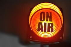 On Air display Royalty Free Stock Images