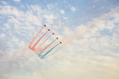 Air display team Royalty Free Stock Photo