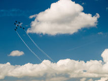 Air display team Royalty Free Stock Photos