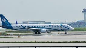 Air Dolomiti acepilla el carreteo en el aeropuerto de Francfort, FRA