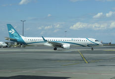 Air Dolomiti Embraer ERJ-195LR (ERJ-190-200 LR) Imagens de Stock
