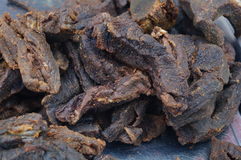Air dried beef Royalty Free Stock Images
