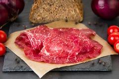 Air dried ham Stock Photo