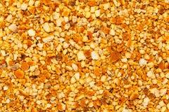 Air dried Organic Orange peels Citrus × sinensis. Macro closeup background texture. Top view royalty free stock photo