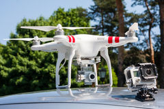 Air drone Royalty Free Stock Image