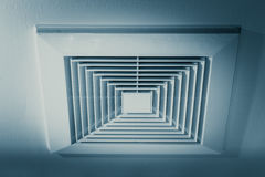 Air Duct, Danger and the cause of pneumonia. Royalty Free Stock Photos
