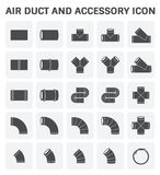 Air Duct Icon Stock Photos