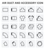 Air Duct Icon Stock Photography