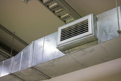 Air duct  and ventilation systems Stock Photos