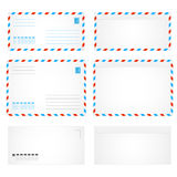 Air envelope letter Royalty Free Stock Images