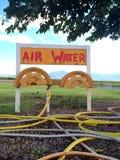 Air et l'eau anciens Images stock