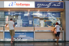 Air Europa Imagens de Stock