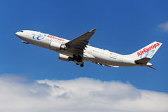 Air Europa Airbus A330-200 Imagem de Stock Royalty Free