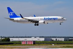 Air Europa Boeing 737 Foto de Stock