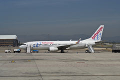 Air Europa, Boeing 737-800 Stock Image