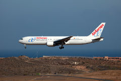 Air Europa Boeing 767-300 Royalty Free Stock Image