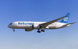 Air Europa Boeing 787-8 Dreamliner Foto de Stock Royalty Free