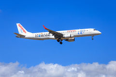 Air Europa Boeing Embraer 195 Stock Photography