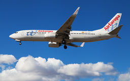 Air Europa Boeing 737 Stock Photography