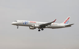 Air Europa Embraer ERJ-195 Immagine Stock