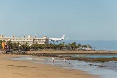 Air Europa migra a aterrissagem Foto de Stock