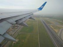 Air Europa take off stock image