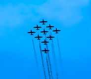 Air exhibition in Italy Royalty Free Stock Photography