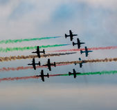 Air exhibition in Italy Royalty Free Stock Photo