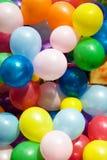 air färgglada ballonger Royaltyfria Bilder