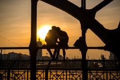 air förälskelse Fotografering för Bildbyråer