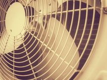 Air fan. In vintage Stock Photos