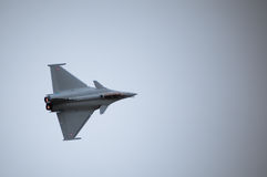 Air fighter. Twin engined delta wing highly agile multi role fighter aircraft Stock Photography