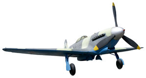 Air Fighter. USSR Air Fighter Yak-9 of times of World War Two stock photo