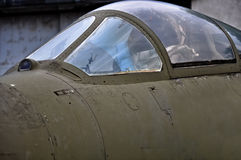 Air fighter pilot cabin Royalty Free Stock Photography