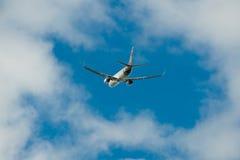 Air Fiji Boeing 737-800 em voo Imagens de Stock