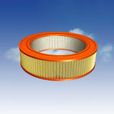 Air Filter. For an automobile with clipping path Stock Images