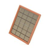 Air filter for car. Automotive air filter on white background Stock Image