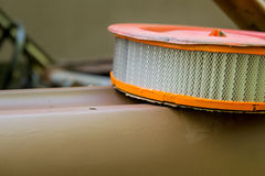 Air filter for a car Royalty Free Stock Photos