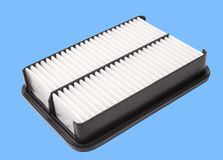 Air filter, clipping path Stock Photography