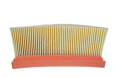 Air filter side view Stock Photo