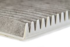 Air filter surface Royalty Free Stock Photo