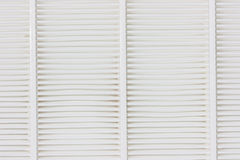 Air filter, white Royalty Free Stock Photo